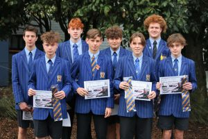 St Thomas of Canterbury College Boys honours tie recipients