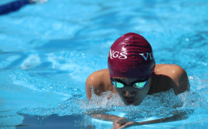 STC student swimming