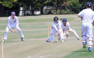 St Thomas of Canterbury College Boys playing cricket