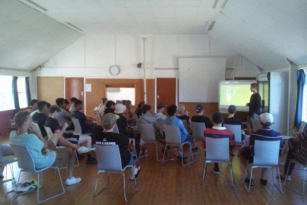STC Students on leadership camp