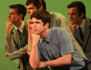St Thomas of Canterbury College stage performance
