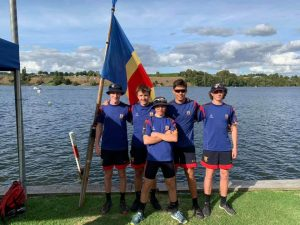 St Thomas of Canterbury College rowing team